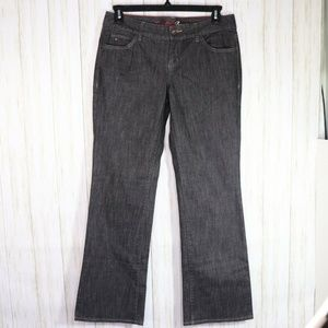 Tommy Hilfiger Black Freedom Boot Jeans Size 10